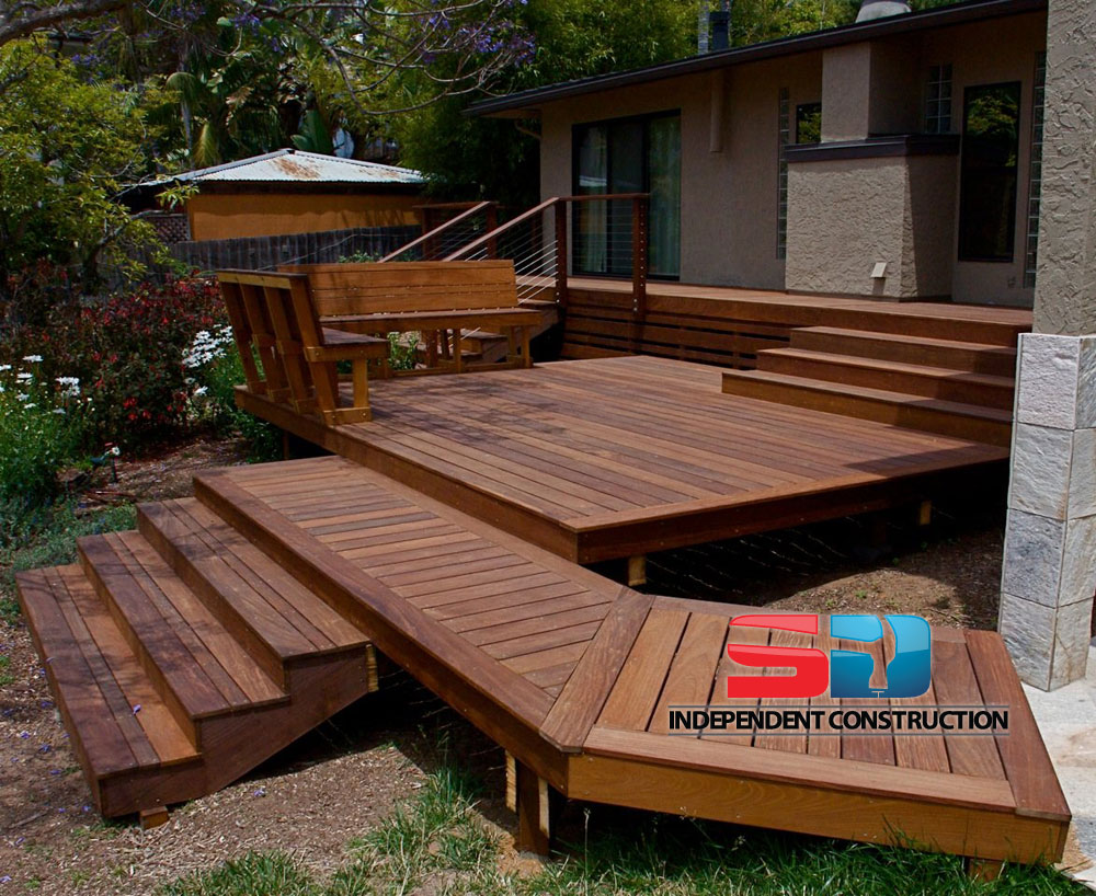 Multi Level Patio Decks : Multi Level Deck Design Multi level ipe deck, stairs,