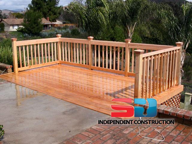 wooden decks san diego independent construction. Black Bedroom Furniture Sets. Home Design Ideas