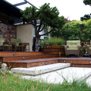 Floating Concrete Steps