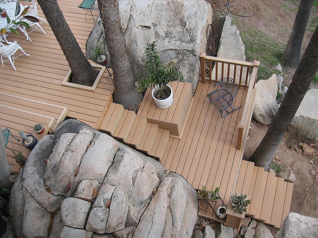 Trex Composite Stairway