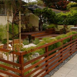 Split Rail Hardwood Fence