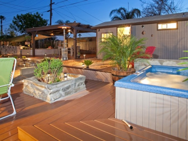 custom decks San Diego, San Diego outdoor living space