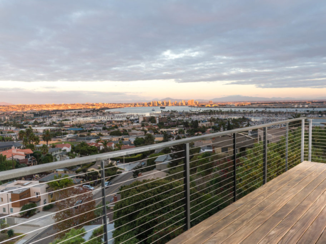 San Diego cable railing installers, california cable railing contractors