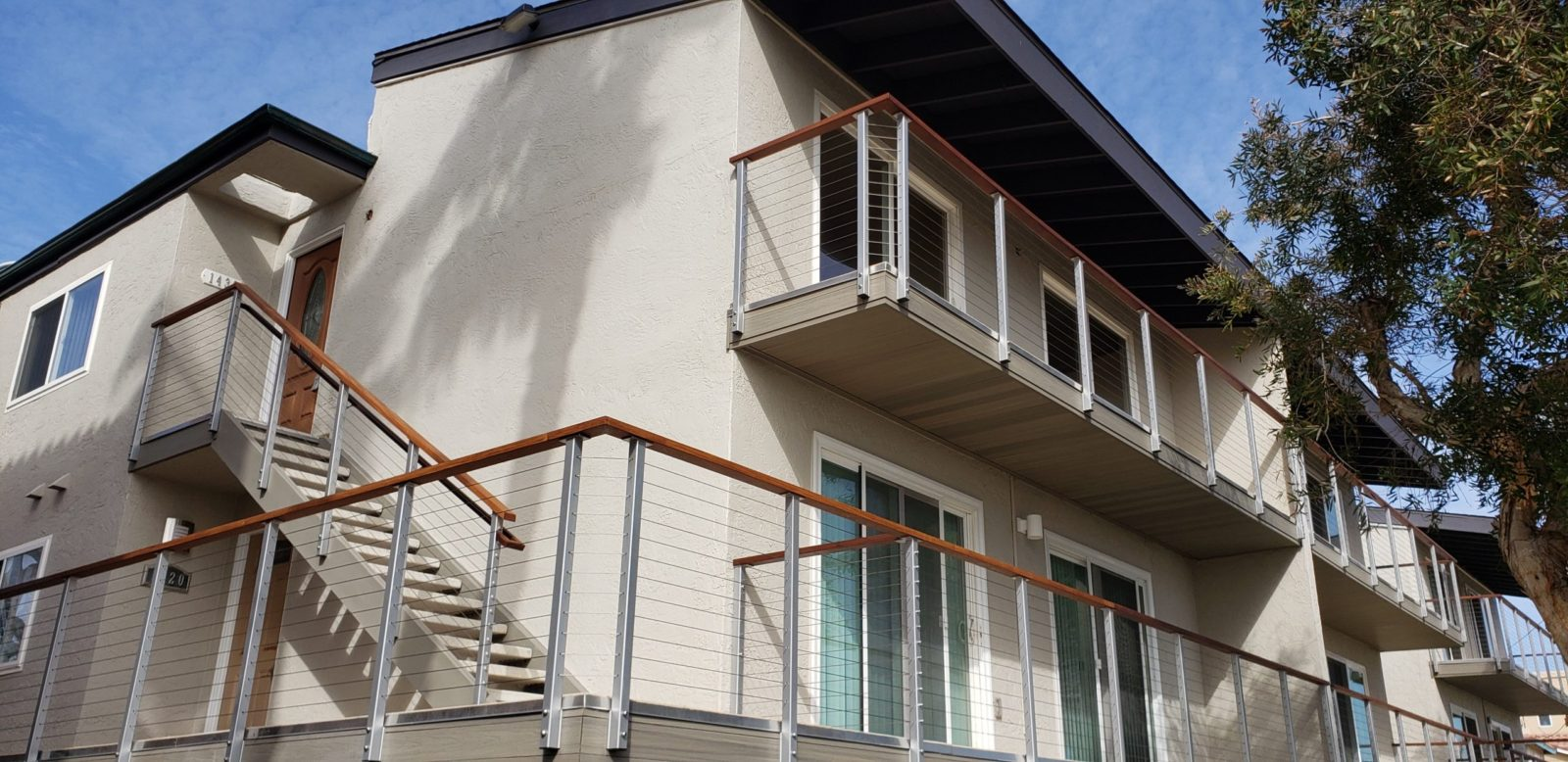 Stainless Steel Cable Railings San Diego Independent Construction