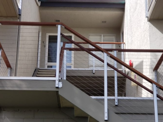 stair railings San Diego, San Diego railing installers