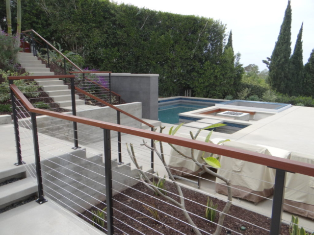 San Diego cable railing installers, california cable railings