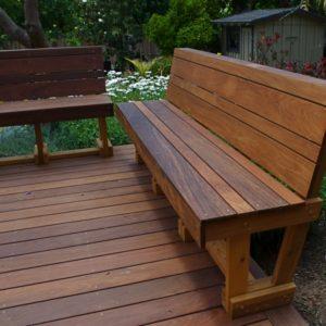 Custom Ipe Benches